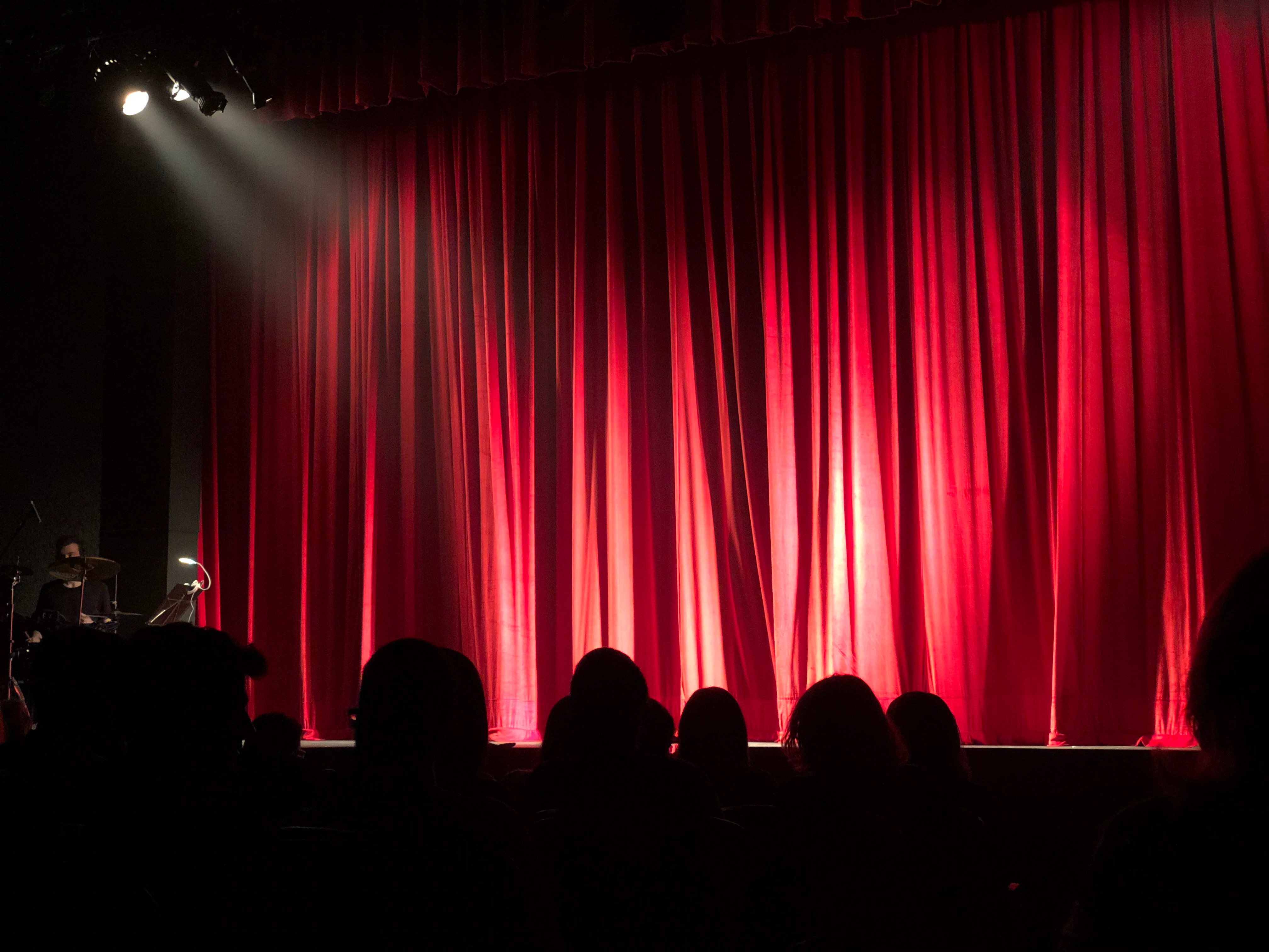 Canva - People at Theater